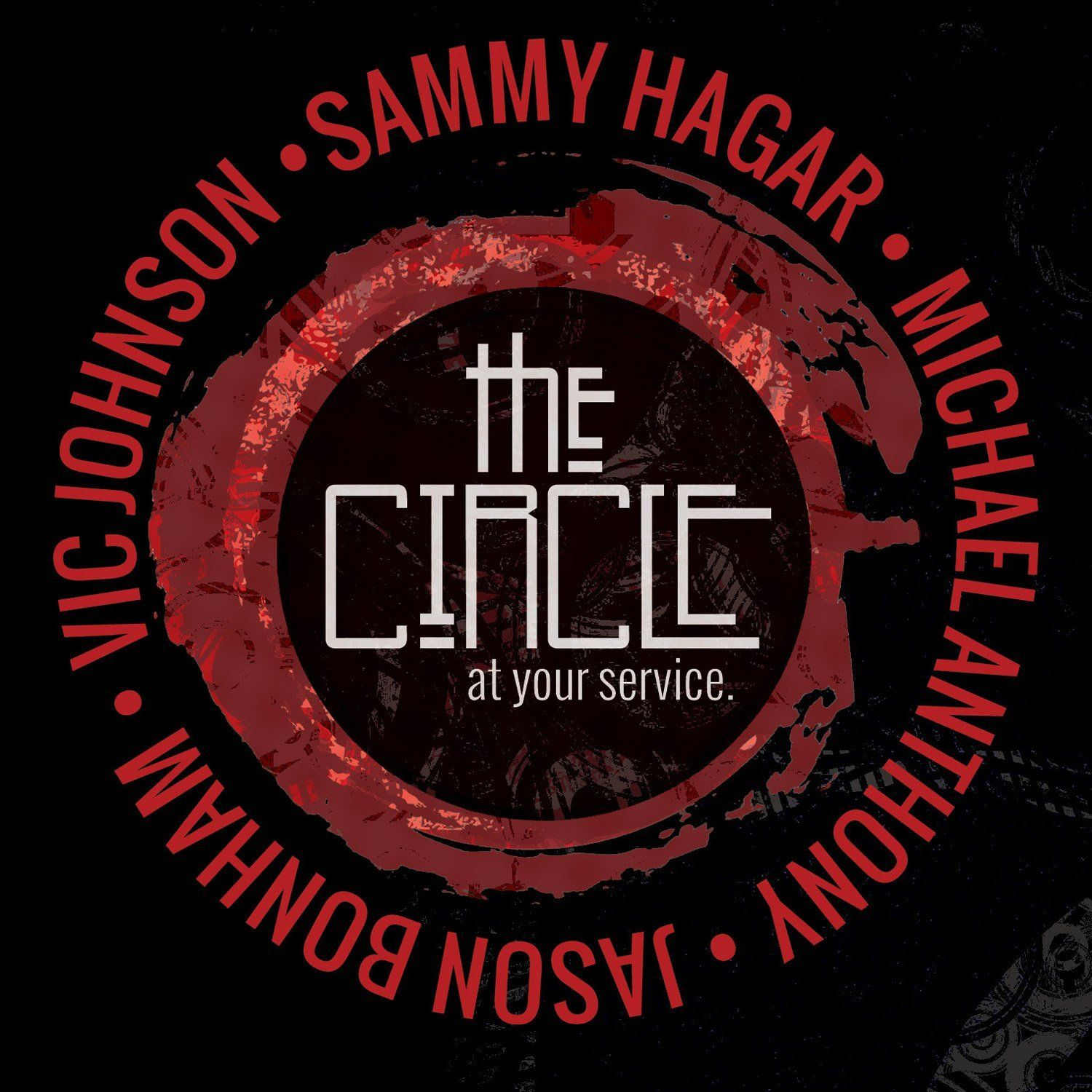 Sammy Hagar And The Circle At Your Service Sammy Hagar Classic Rock Albums Sammy Hagar The Circle