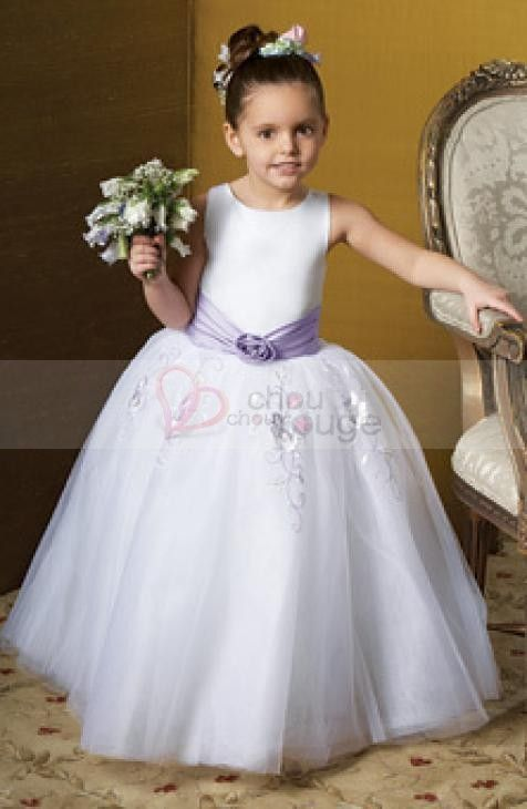 Robe D Honneur Petite Fille