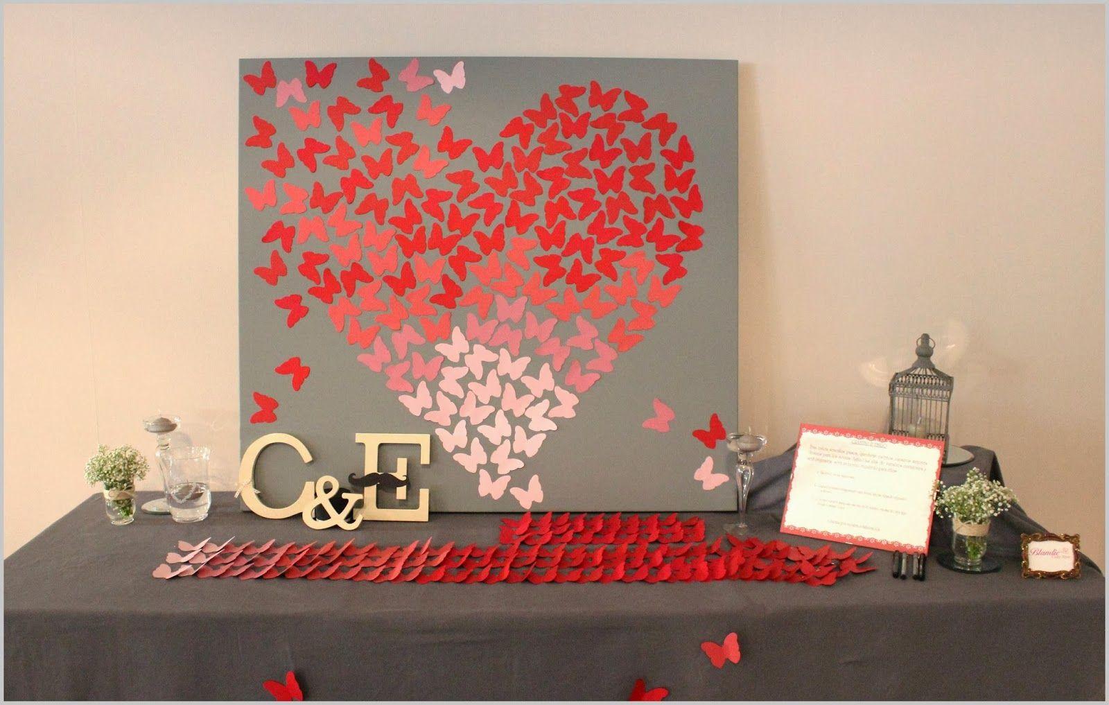 Manualidad para mi novio imagui for Decoracion para pared san valentin