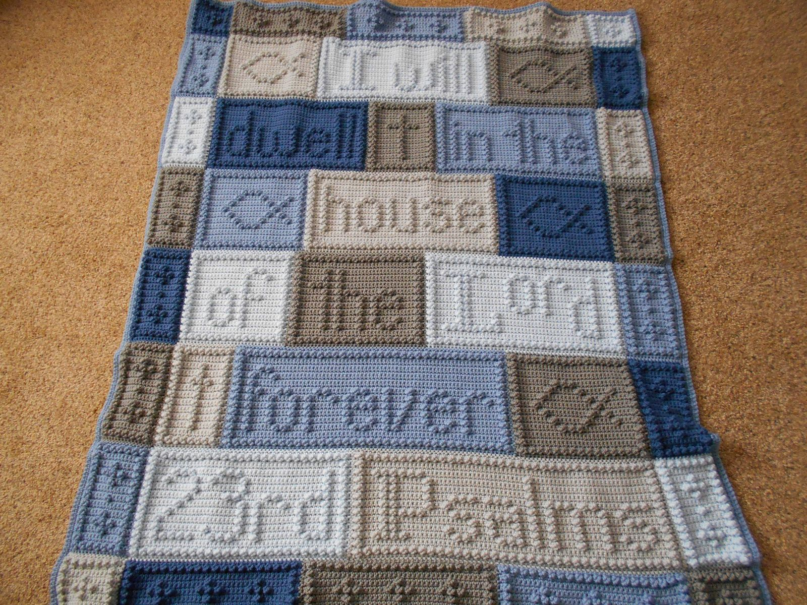 23rd Psalms Blanket Pattern By Jody Pyott Libraries