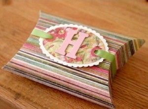 diy, just add embellishments to store bought pillow favor boxes