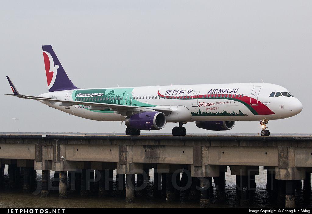Airbus A321-231 B-MBM 6324 Macau Int'l - VMMC   Aviões - Airbus A321