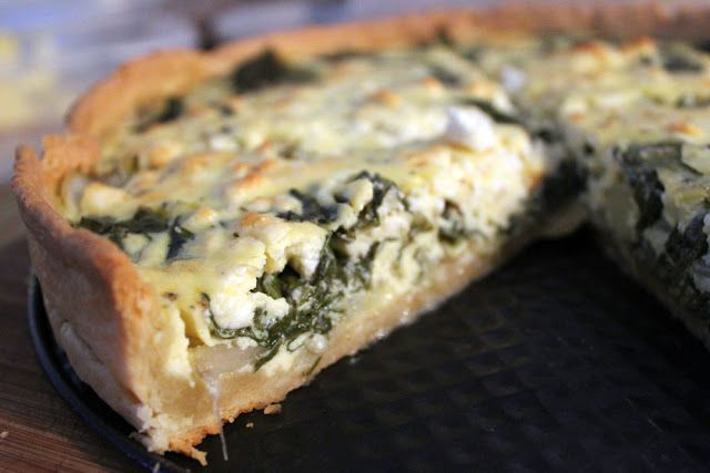 mangold quiche mit feta food pinterest feta quiche and veggies. Black Bedroom Furniture Sets. Home Design Ideas