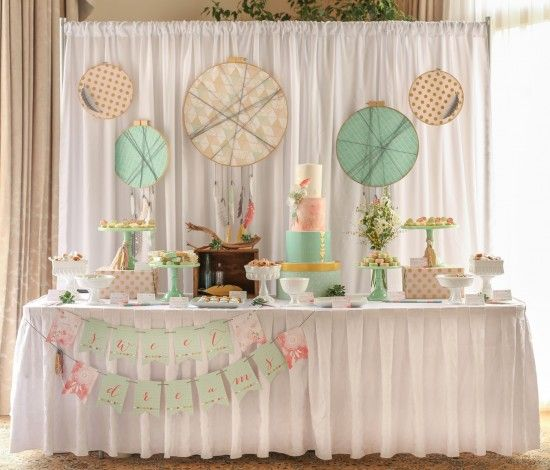 Marvelous Bohemian Baby Shower: Operation Shower   Paper And Cake