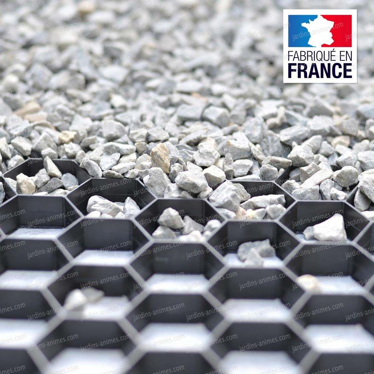 Acheter Gravier Pour Allée stabilisateur de gravier drainant et 100% recyclable