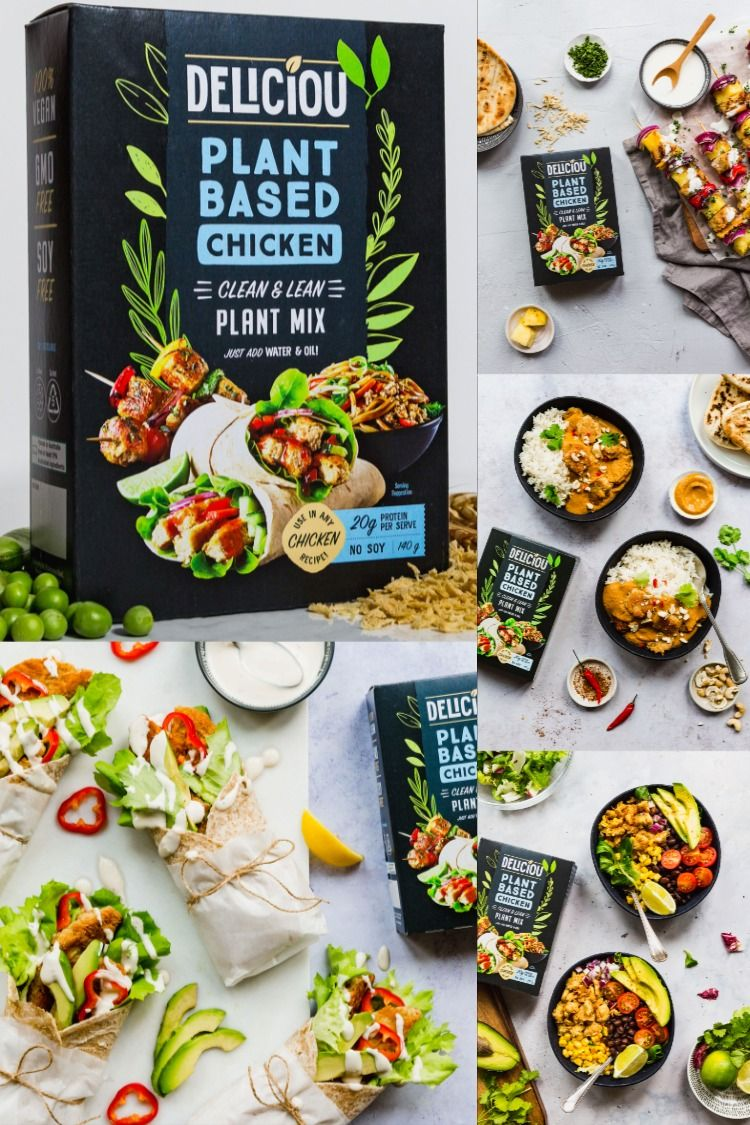 We're setting a new standard for what healthy plantbased