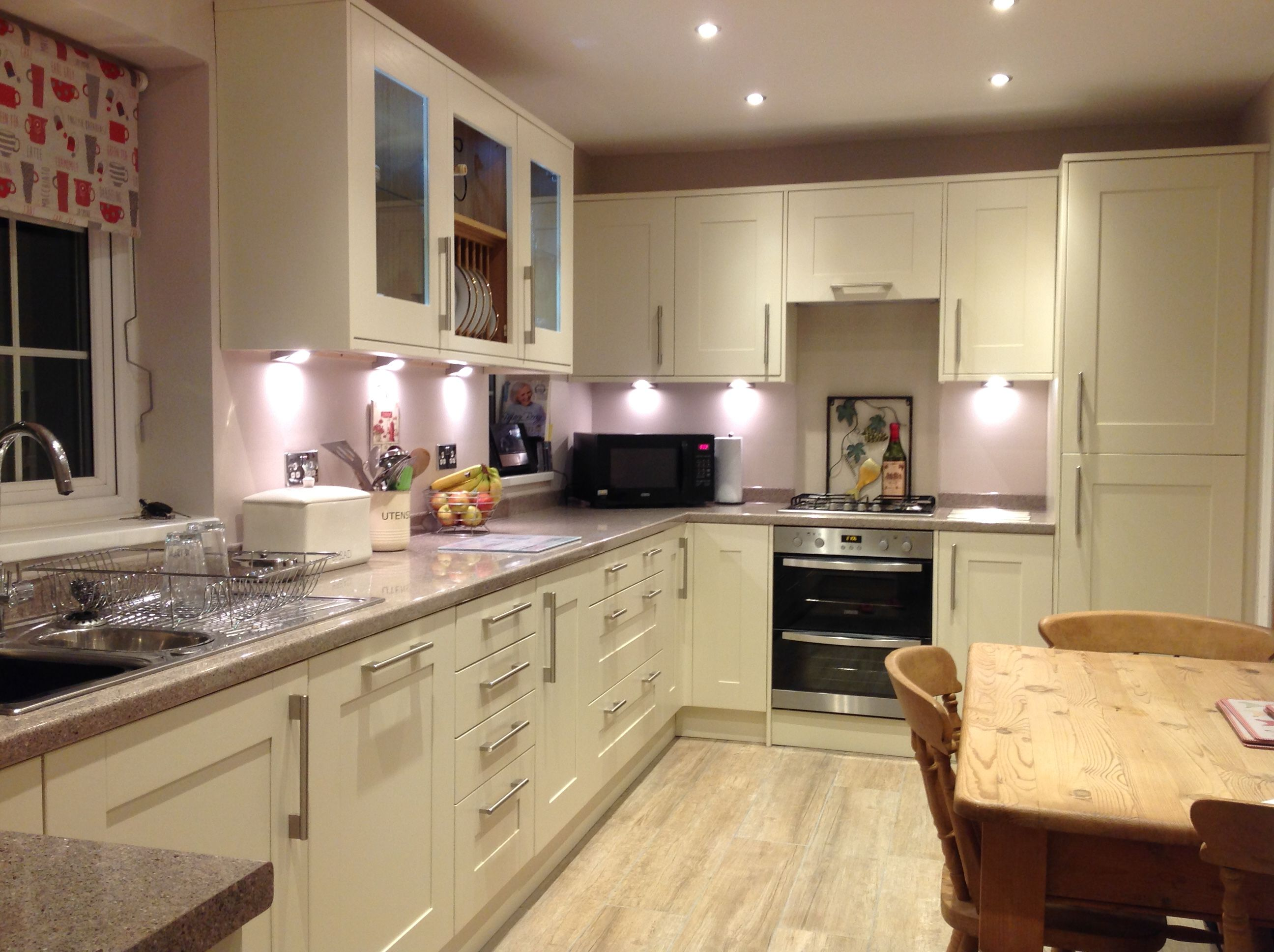 New Kitchen Ideas My New Kitchen Wickes Tiverton Bone With Mello Mocha Walls