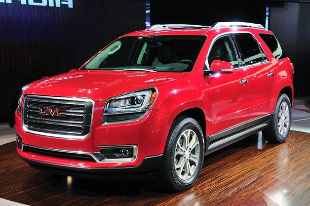 2013 Gmc Acadia Priced From 34 875 Gmc Gmc Vehicles Gmc Trucks