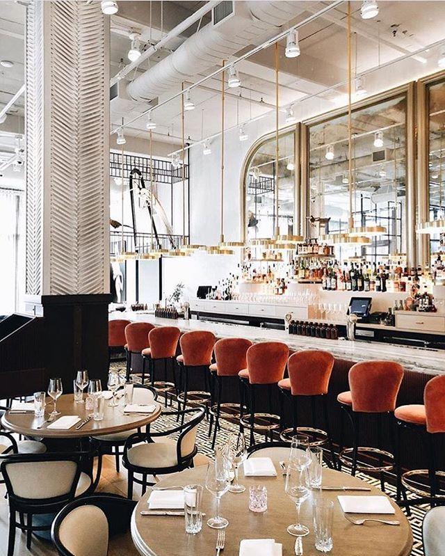 Design Restaurants Interiors Of Restaurants And Bars Restaurantdesign Modern Interior Design Contemporary Bar Restaurant Design