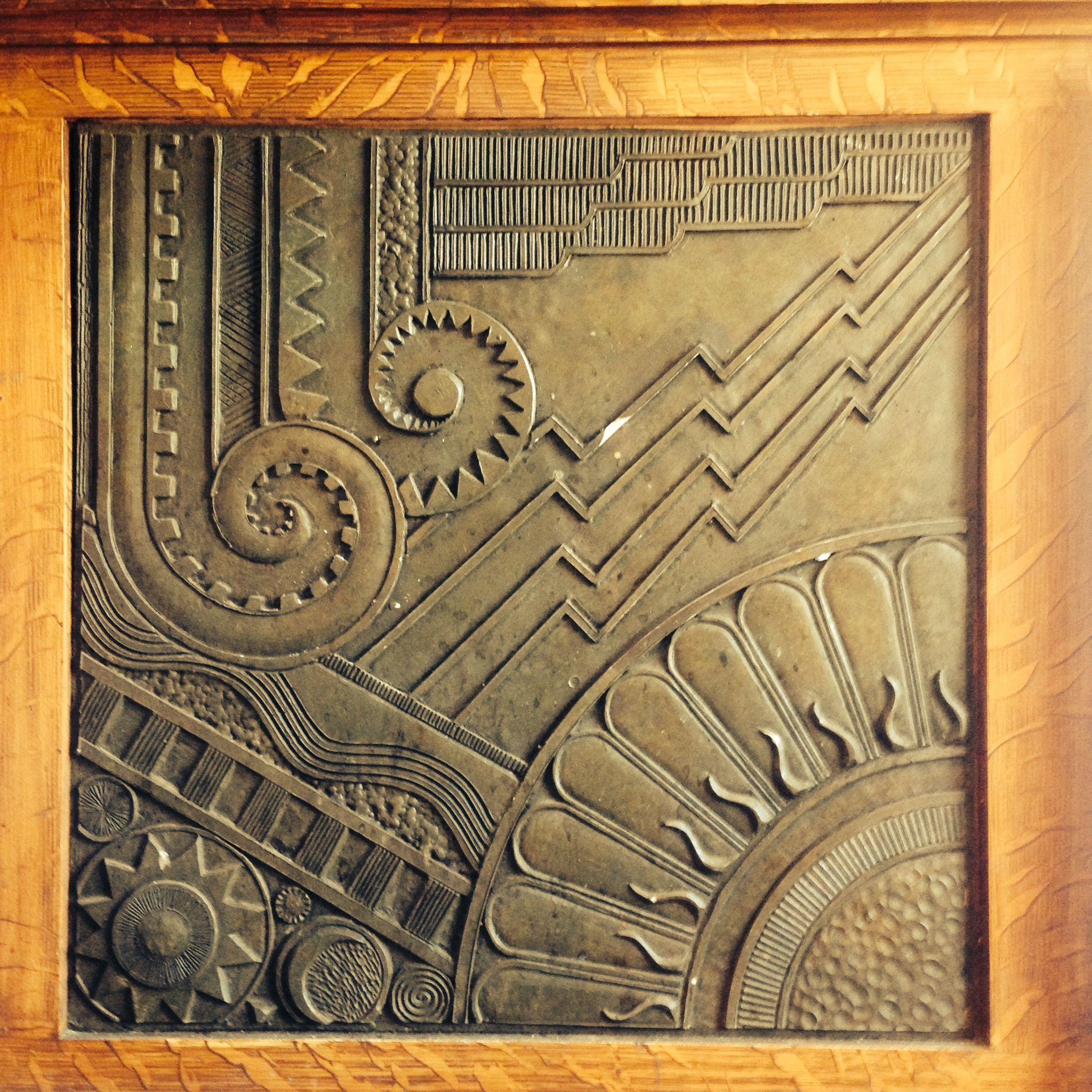 Art Deco Wall Panels