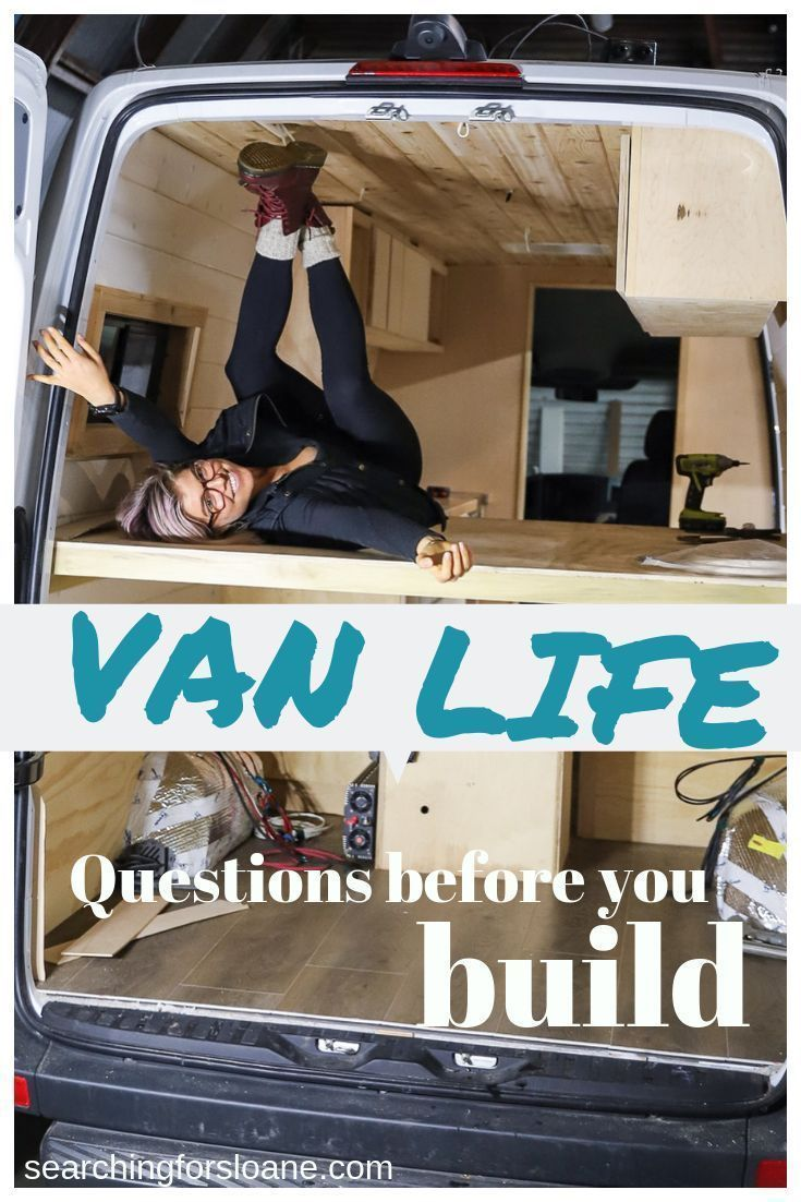 Photo of Are you getting ready to start a van build? These are the questions to help desi…