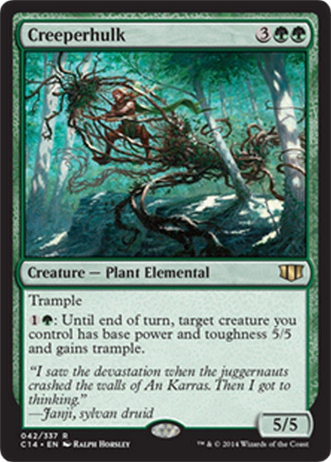 099 creeperhulk nm commander 2014 mtg magic cards