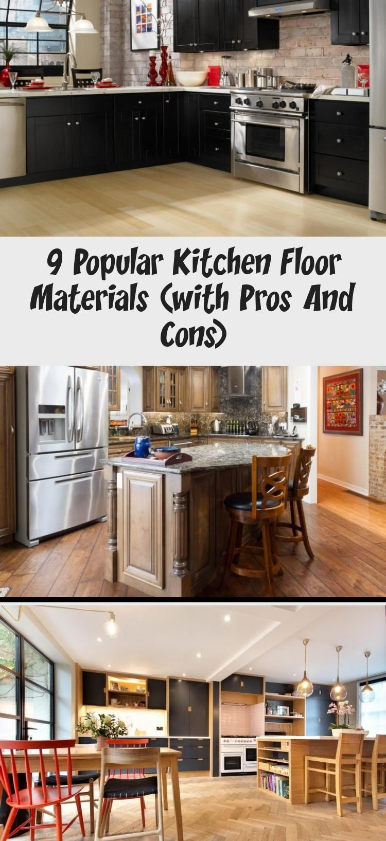 9 Popular Kitchen Floor Materials With Pros And Cons 2020