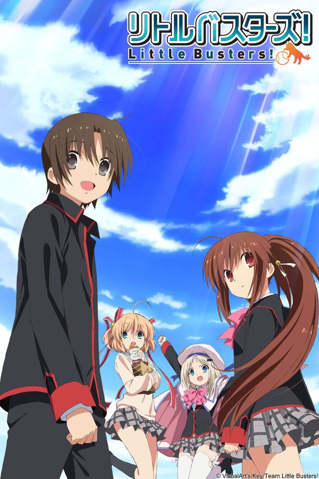 Crunchyroll Little Busters! Full episodes streaming