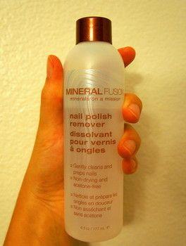 Mineral Fusion Nail Polish Remover | Green Lipped Kasia ...