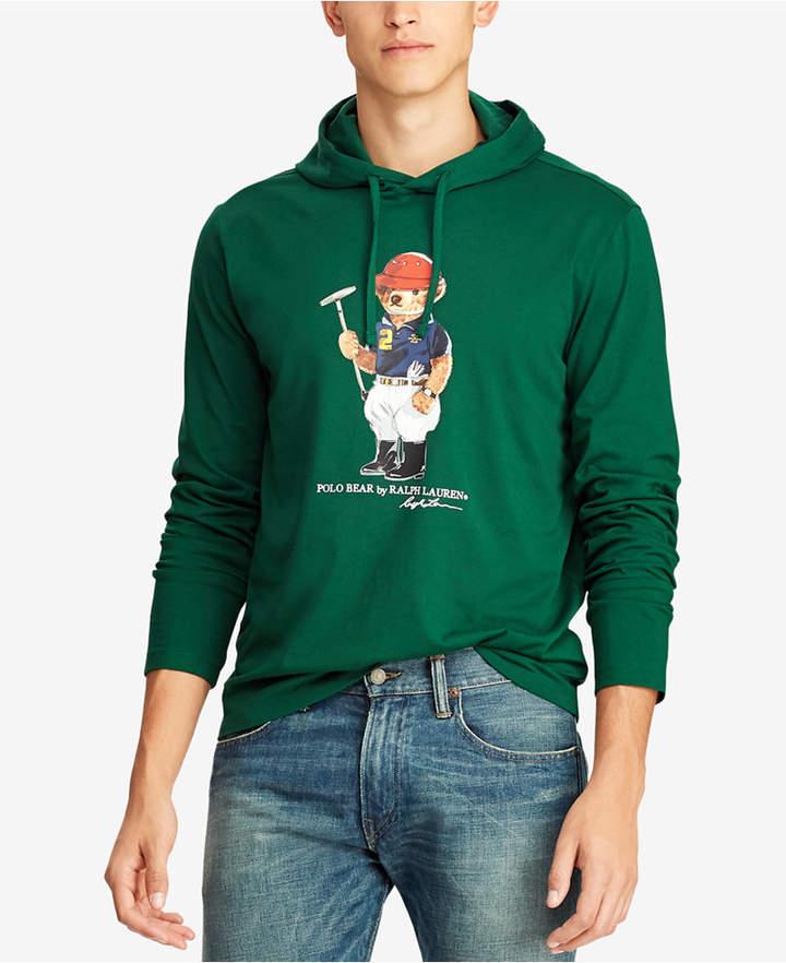 e29fb5e26 Polo Ralph Lauren Men's Polo Bear Hooded T-Shirt | Products | Polo ...
