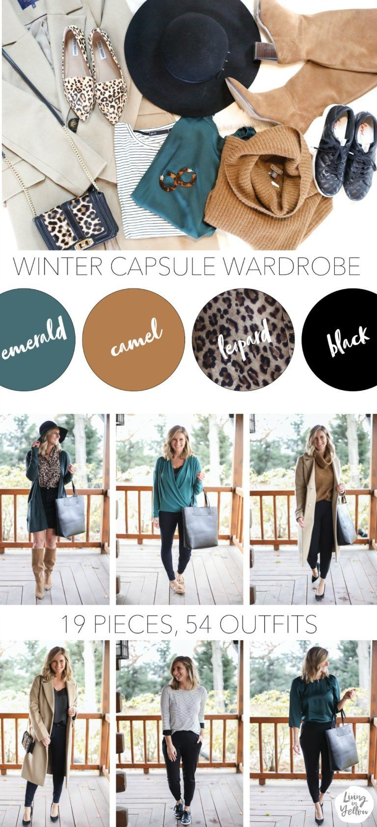 7d43e4dfed0 How to Build a Winter Capsule Wardrobe - Living in Yellow ...