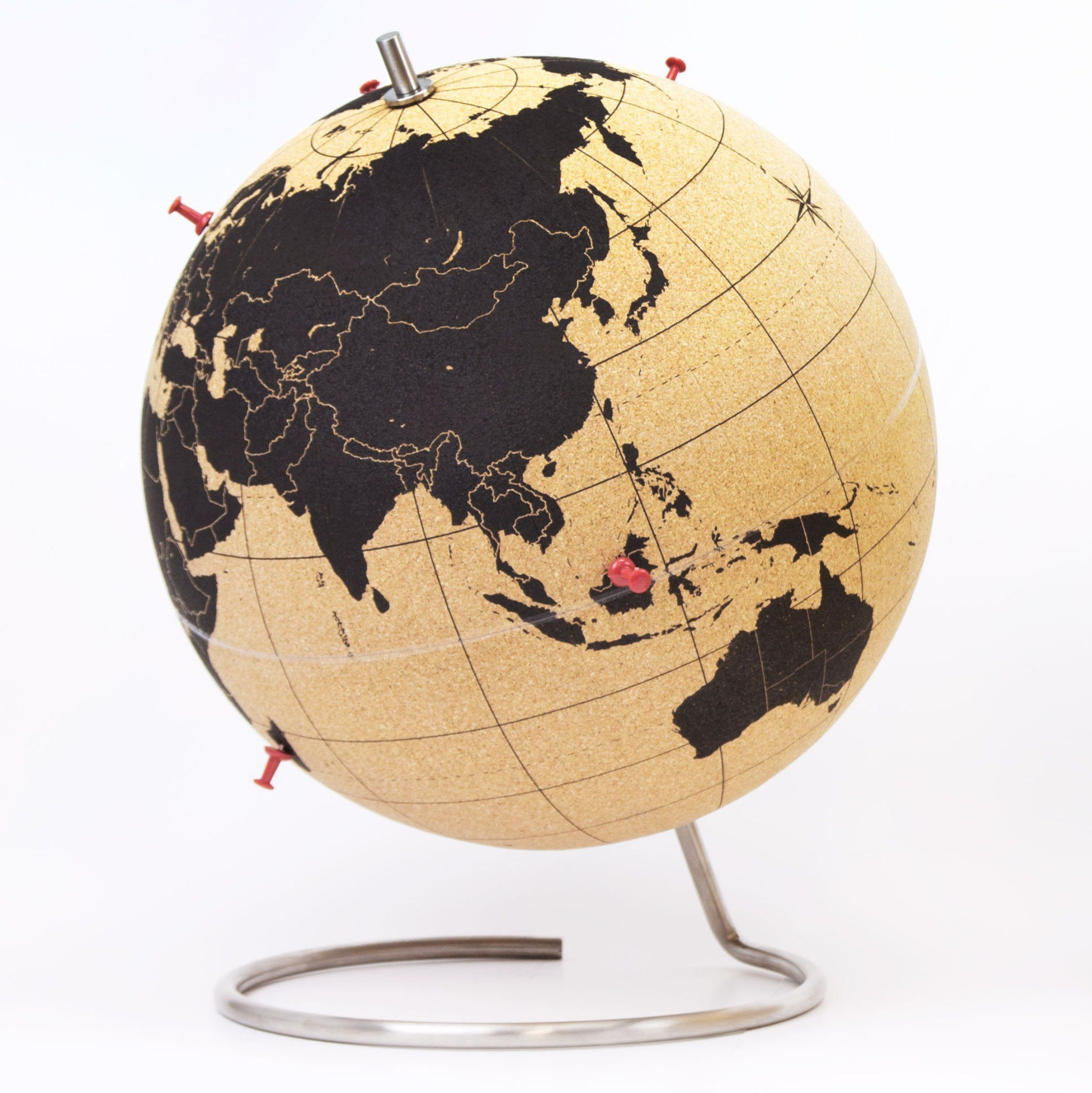 amazoncom suck uk cork globe map of the world