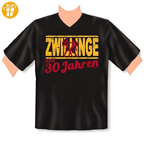 Cooles witziges Fun T-Shirt zum 30. Geburtstag mit Motiv - Zwillinge seit 30