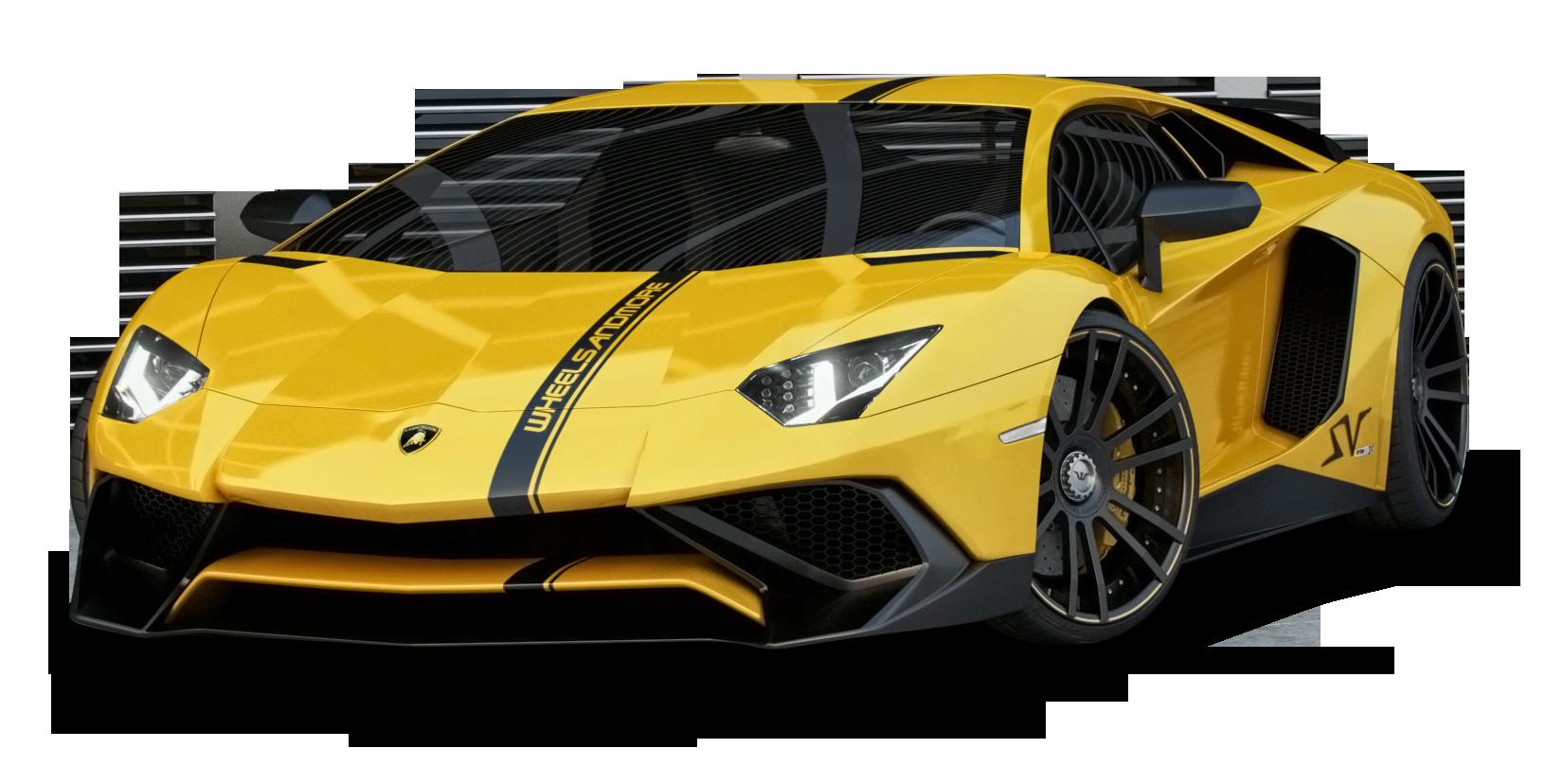 Yellow Lamborghini Aventador Car Png Image Lamborghini Lamborghini Aventador Car