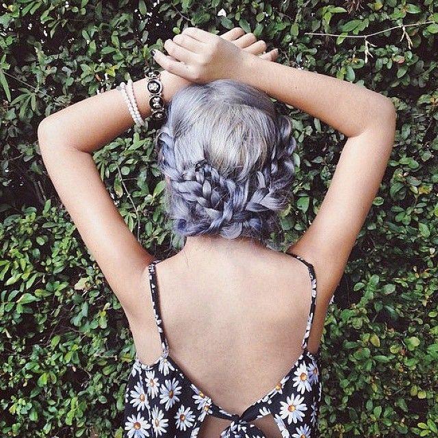 Lavender Plaits by @dearmiju
