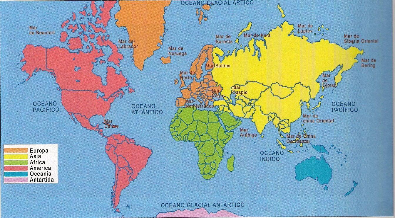 Mapa Continentes Busca De Google Mapas Continentes Y