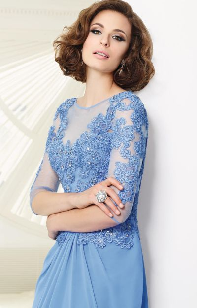 75dc2f1fa2b VM Collection 70903 Chiffon Mother of the Bride Dress - French Novelty  440