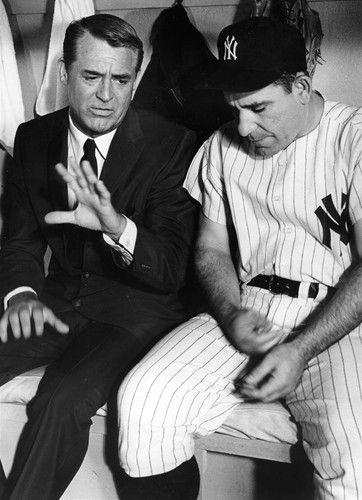 'Cary Grant and Yogi Berra Talk Sports' - Leo Fuchs