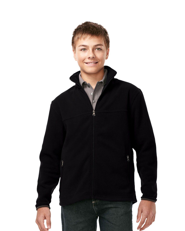 100% Polyester Fleece Jacket for boy's Tri mountain FY7608 #Fleece #Jacket #Polyester