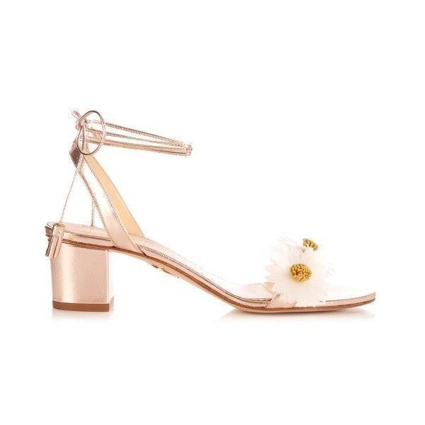 Tara Embellished Metallic Leather Sandals - Silver Charlotte Olympia q1PGhFJ