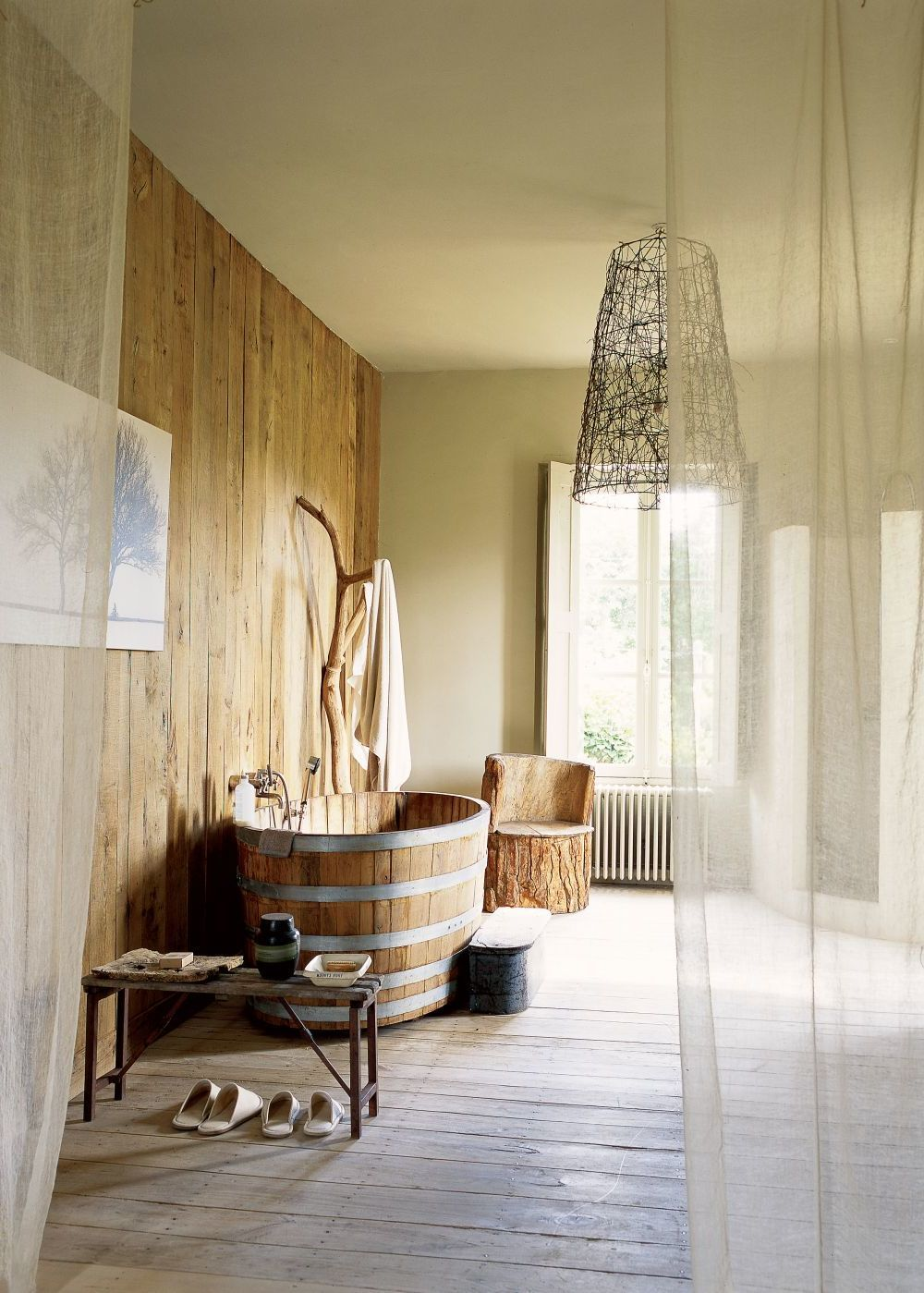 Schön Badgestaltung Ideen Ideen Von Badgetsaltung In Hellen Warmen Farben Holzoptik Wand