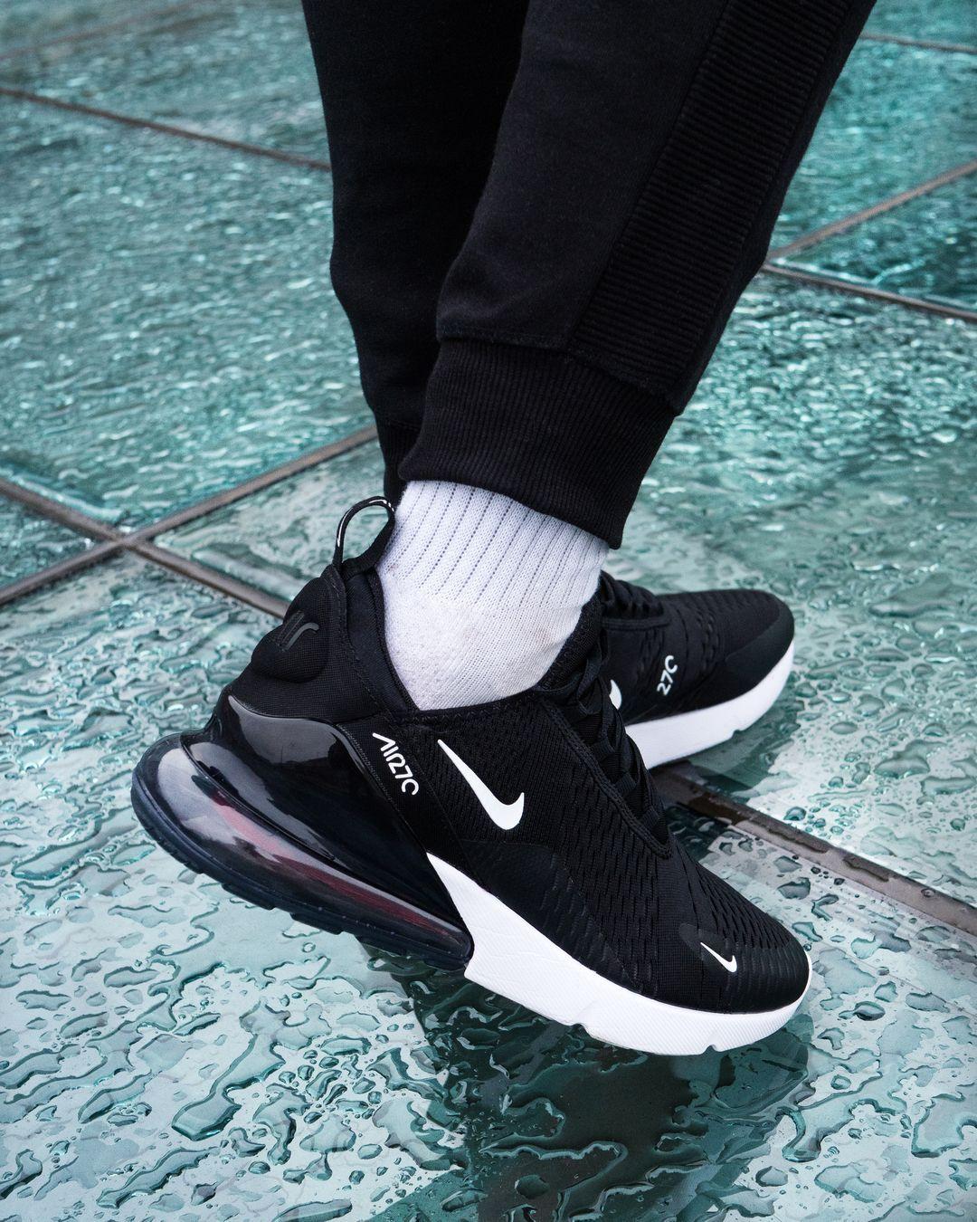 Nike Air Max 270 Black And Anthracite White Nike Schuhe Manner Nike Schuhe Nike