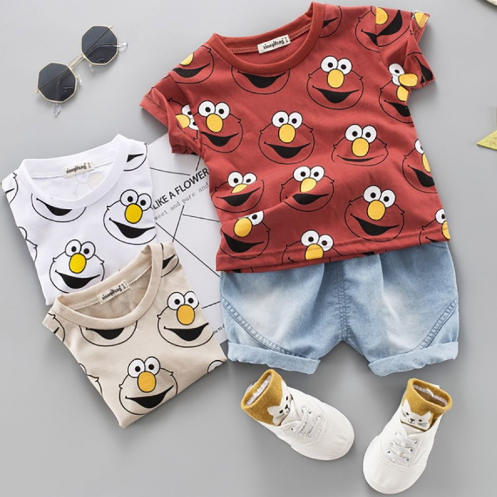 Toddler Baby Kids Boys Clothes Outfits Sets Infant Boy Summer T-Shirt Shorts