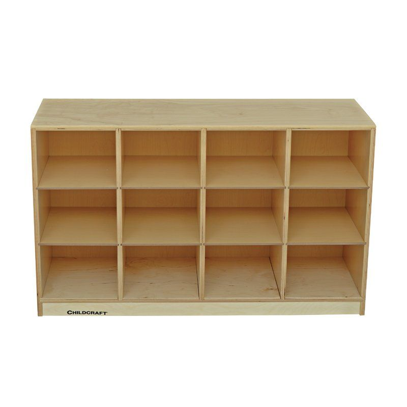 12 Compartment Cubby With Casters Cubbies Classroom Storage Cubby Bins