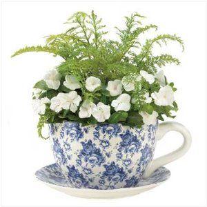 Tea & flowers - 2 of my favorite things!