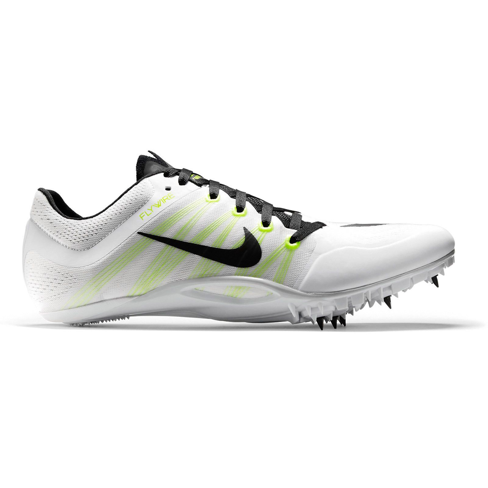 New Nike Zoom JA Fly 2 II Mens Track & Field Spikes Sprint Shoes : White