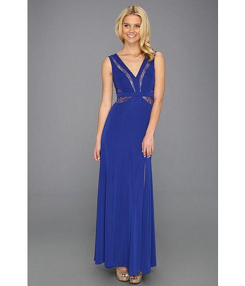 Bcbg blue evening dress