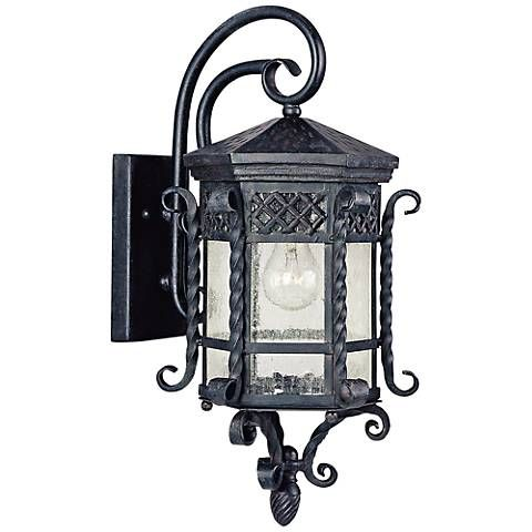 Maxim Scottsdale 21 High Country Forge Outdoor Wall Light