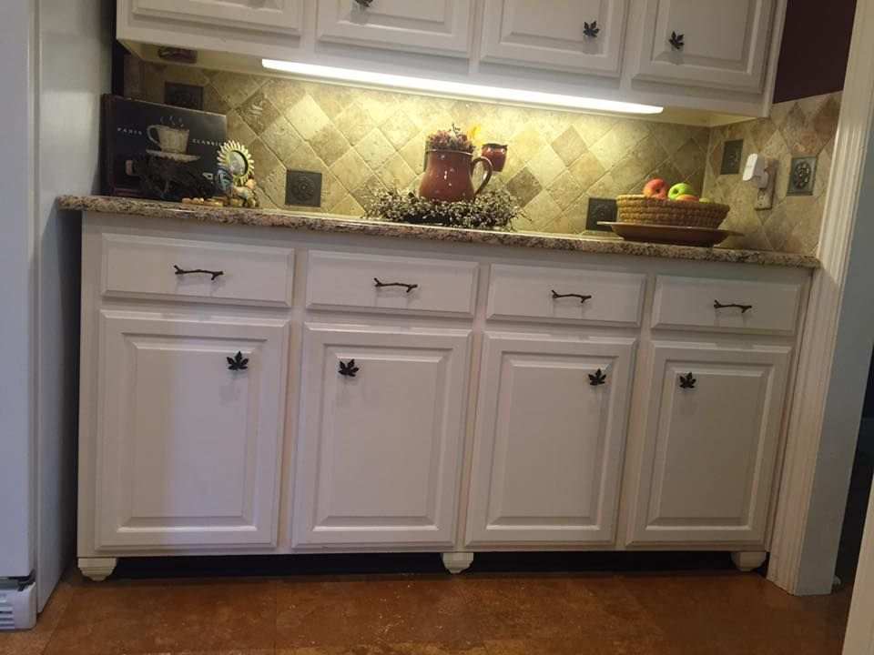 Toe Kicks Painted Matte Black To Disappear Corbels Added To Give The Look Of Furniture Geniu Kitchen Cabinets Kitchen Cabinets Toe Kick Kitchen Inspirations