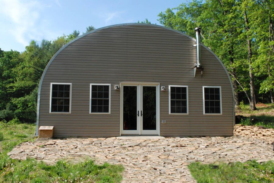 Curvco prefab steel homes are easy to customize