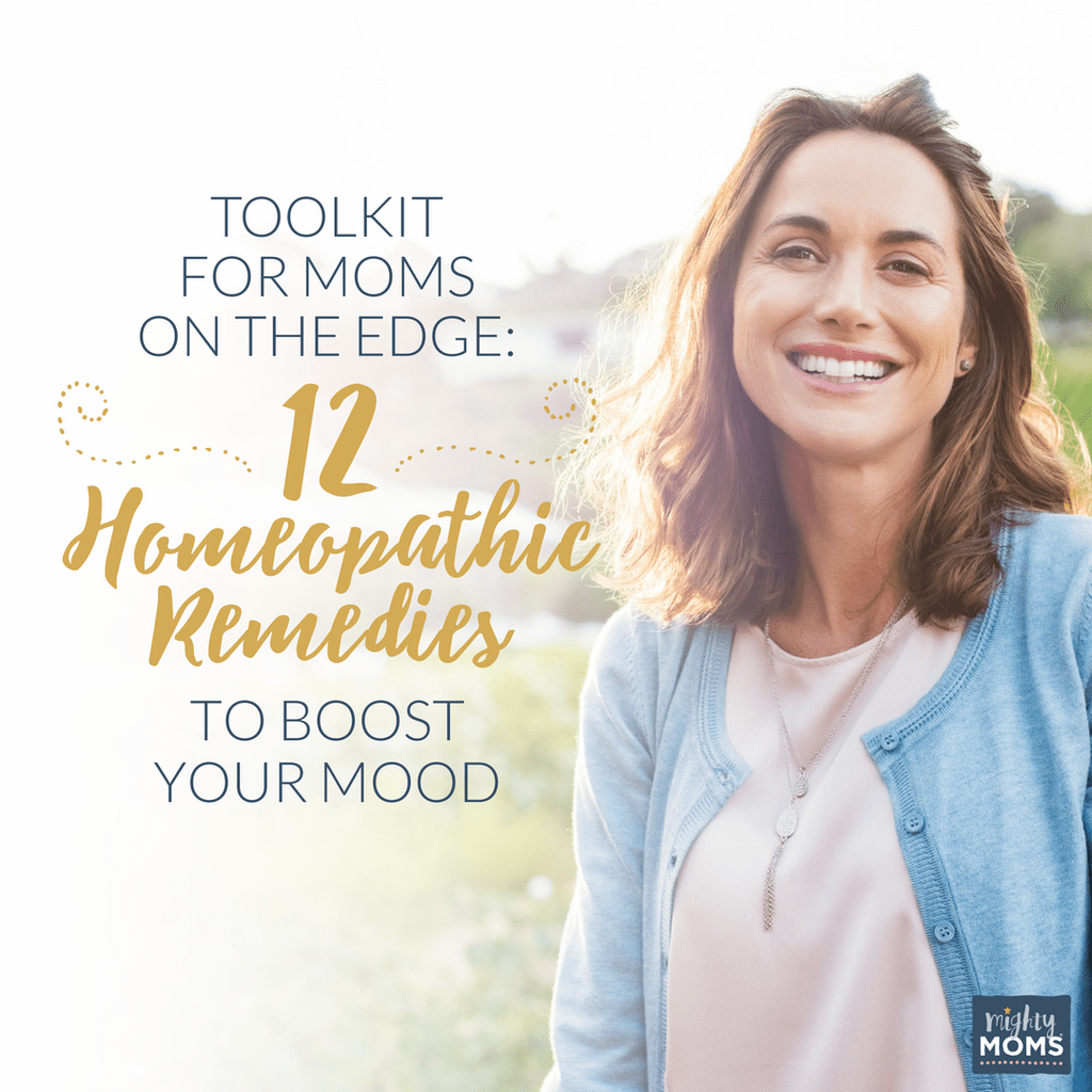 Toolkit For Moms On The Edge 12 Homeopathic Reme S To
