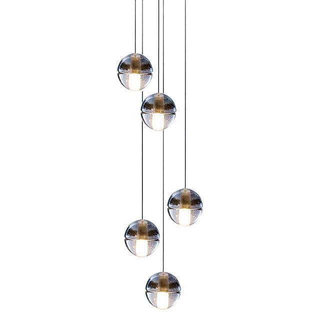Amonson Lighting Replica Bocci 5 Light Pendant