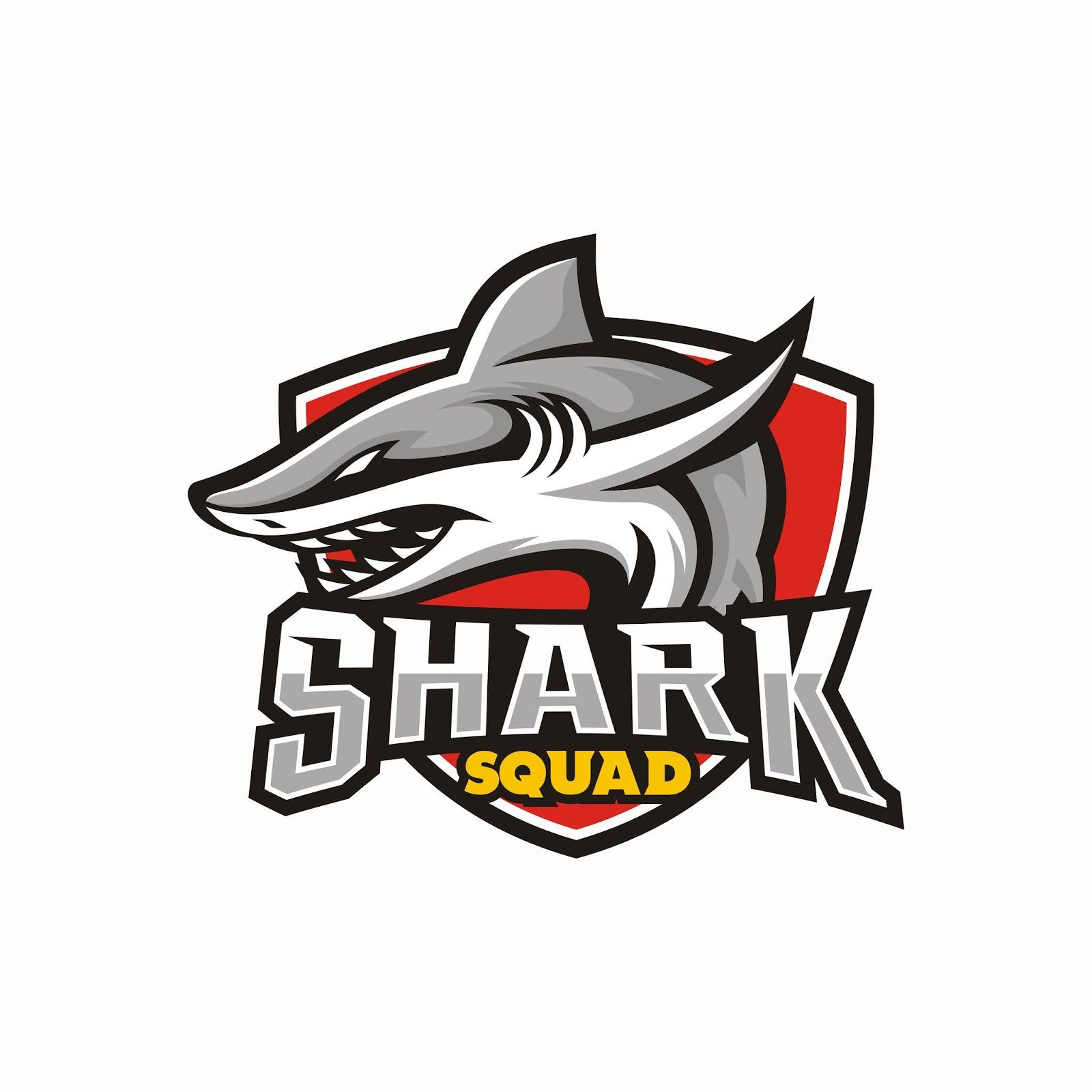 Shark Esport Gaming Mascot Shark Mascot Vector Logo