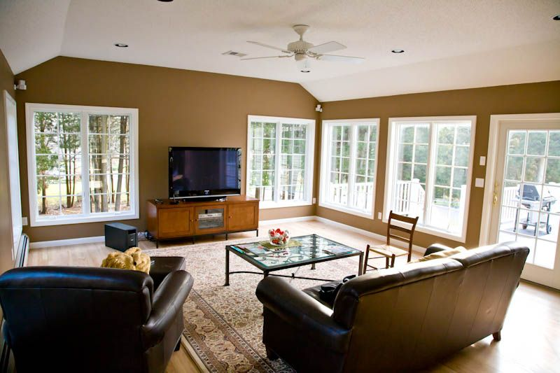Family Room Addition With Casement Windows Family Room Addition