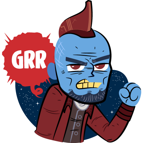 Guardians of the galaxy vol2 facebook stickers