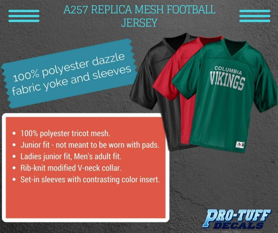 A257 REPLICA MESH FOOTBALL JERSEY