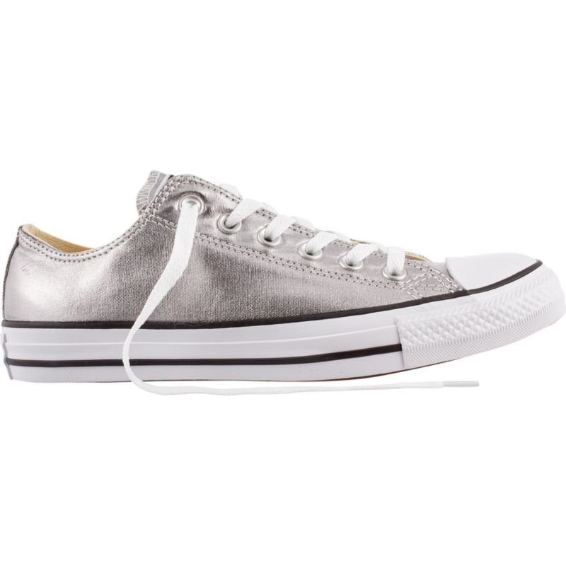 Converse Chuck Taylor All Star Metallic Casual Shoes, Gray