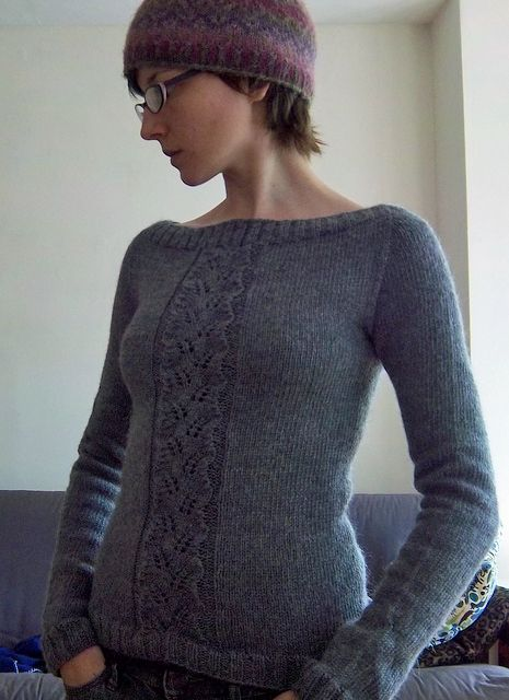58e409588ab9 Begonia Sweater knit in Valley Yarns Deerfield