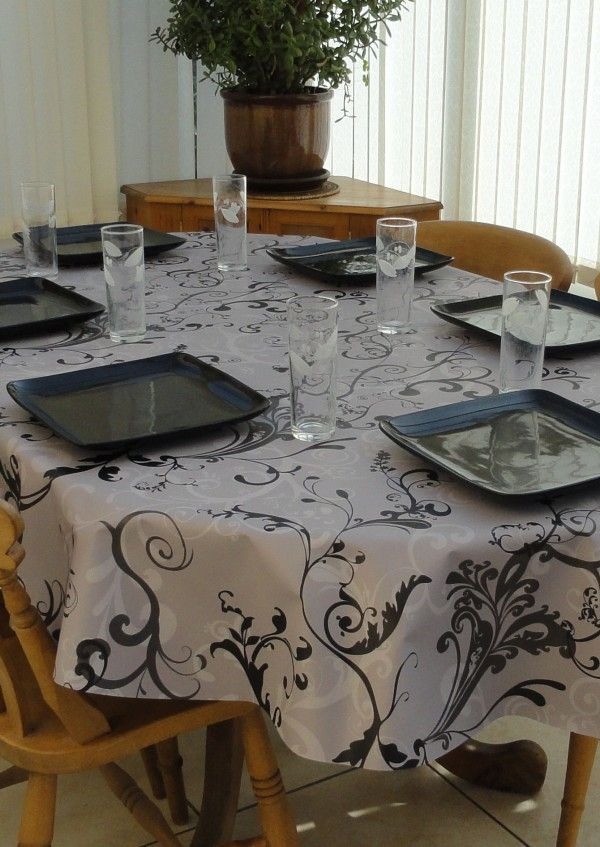 Explore Oval Tablecloth, Tablecloth Sizes, And More!