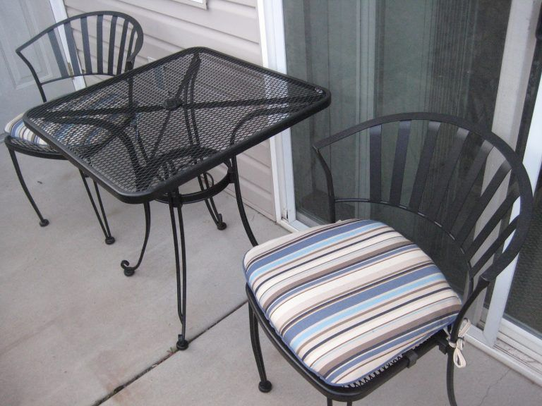 Furniture Wrought Iron Patio Chairs Costco